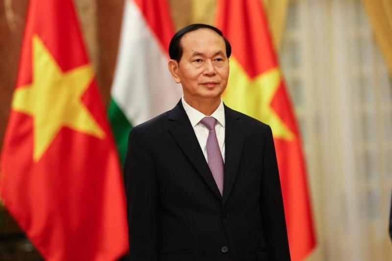 Ảnh chân dung Chủ Tịch Nước Trần Đại Quang