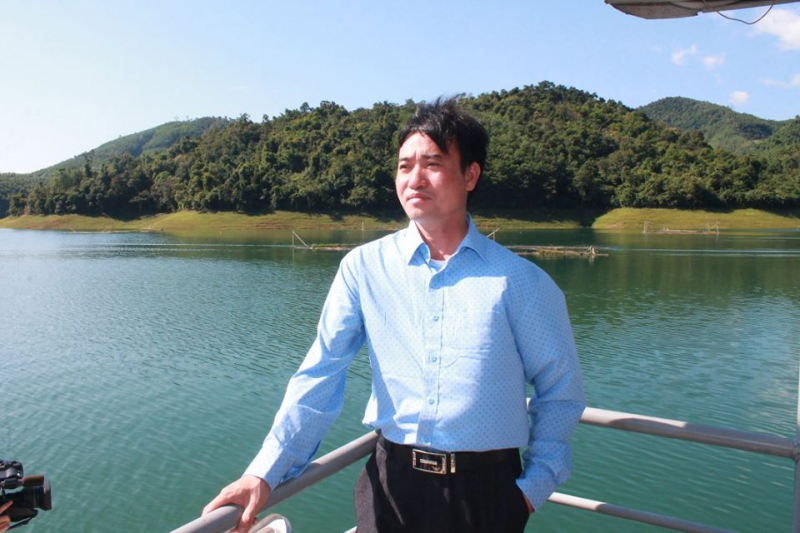 Ảnh nhà thơ Chu Minh Khôi