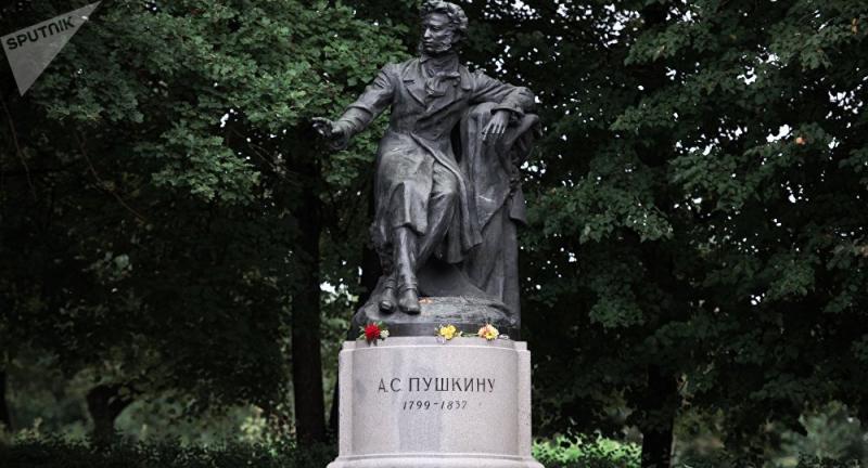 Ảnh chân dung đại thi hào Nga - Pushkin