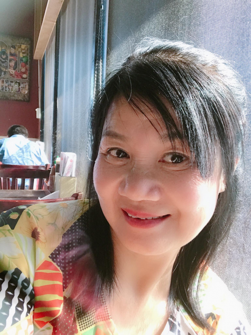 Ảnh chân dung nhà thơ Lan Thanh