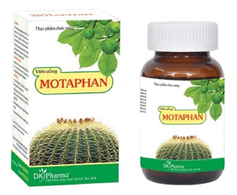 Thực phẩm chức năng Motaphan hỗ trợ điều trị bệnh trĩ