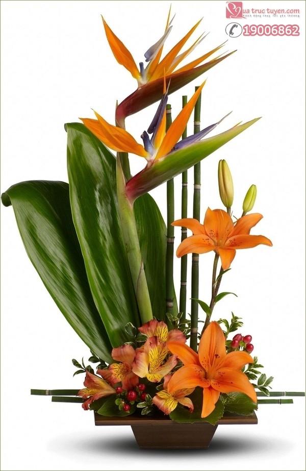 Bài thuyết trình cắm hoa ngày 20/11 với chủ đề: