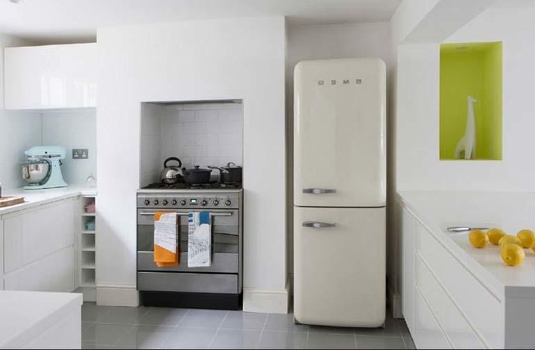 Từ khi có chiếc tủ lạnh này, mẹ không còn lo sợ thức ăn bị thiu hay bị ôi hỏng nữa.