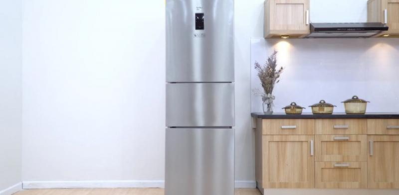 Năm nay đã là năm thứ ba kể từ khi gia đình em mua chiếc tủ lạnh.