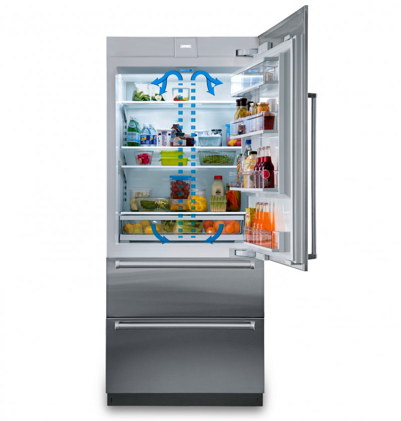 Cứ mỗi khi mở tủ lạnh ra là nó lại sáng và nó cũng tự động tắt đi khi đóng tủ lạnh lại.