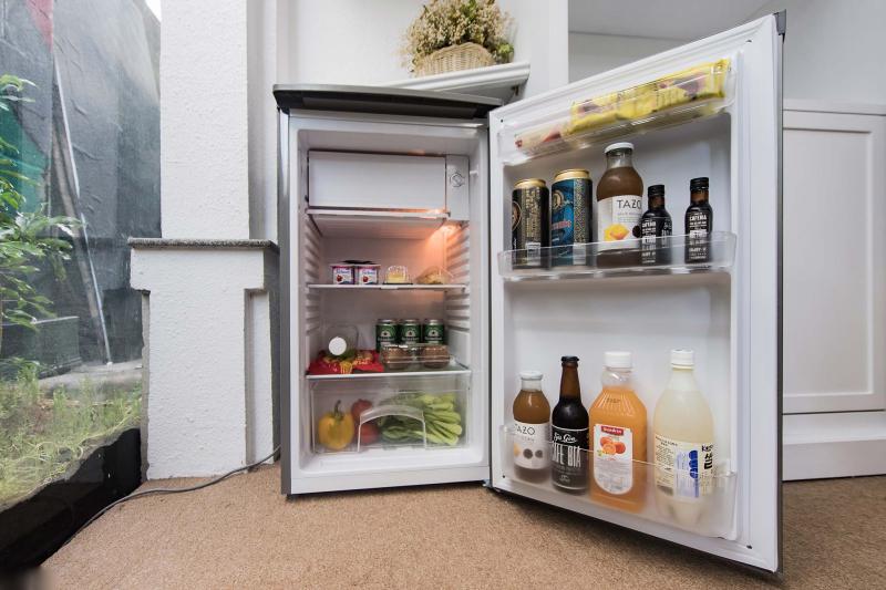 Tủ lạnh như một siêu thị thu nhỏ.