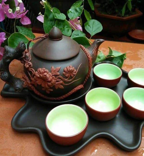 Top 10 bài văn tả bộ ấm chén uống trà hay nhất