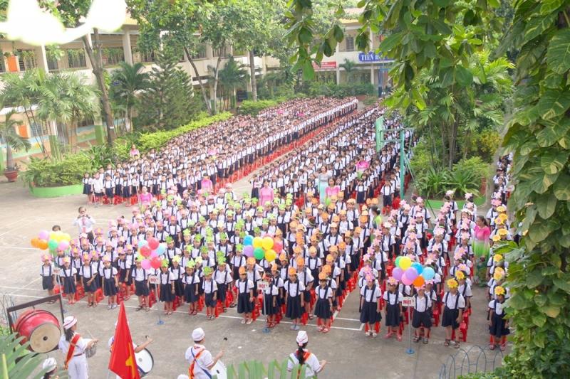 Bài văn tả buổi lễ chào cờ đầu tuần số 2