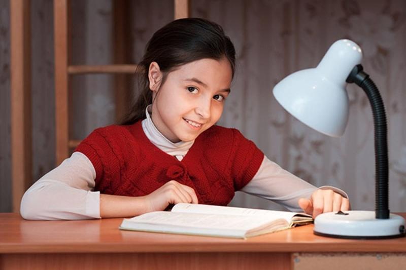 Nhưng có lẽ em thích chiếc đèn học xinh xắn hơn cả vì nó giúp cho em có ánh sáng để học bài mà không bị hại mắt.