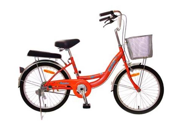 Em rất yêu chiếc xe đạp của mình.