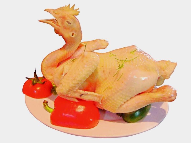 Tả con gà