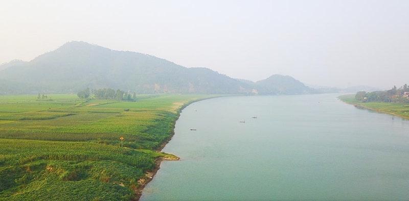 Sông Lam dịu dàng