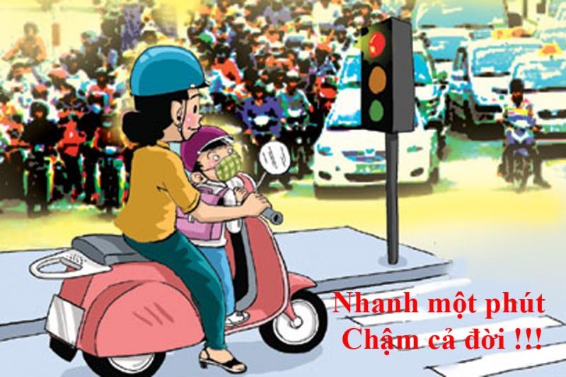 An toàn giao thông là hạnh phúc của mọi người, mọi nhà