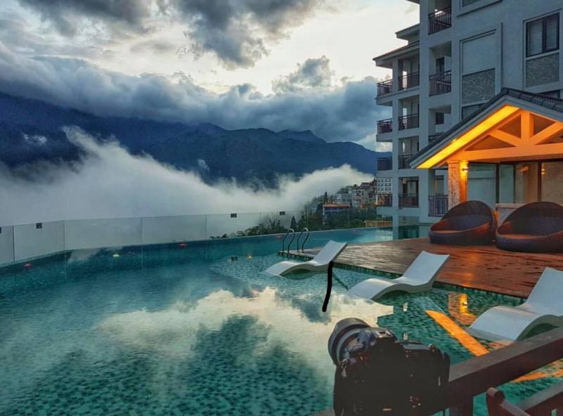 Bamboo Sapa - bể bơi vô cực siêu đỉnh