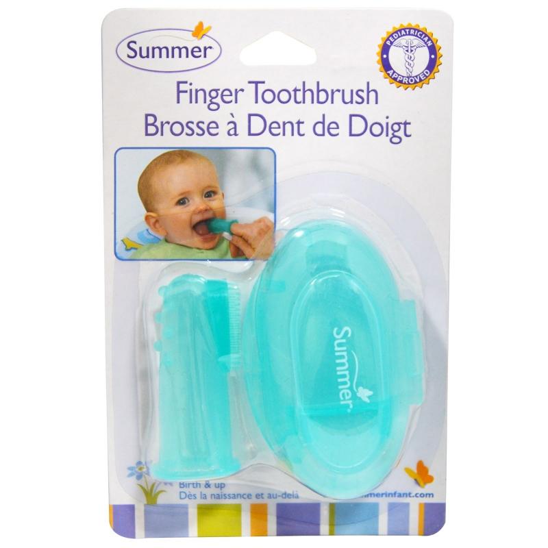 Bàn chải xỏ ngón Summer SM14414 an toàn cho bé khi sử dụng