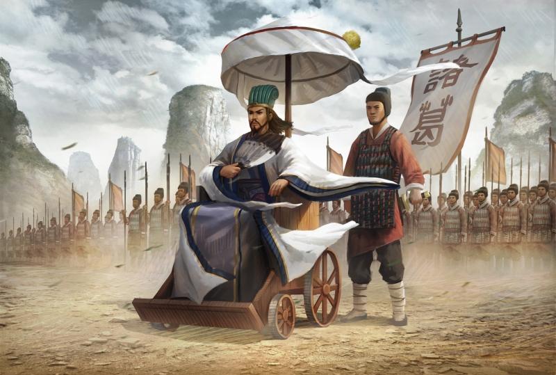 Gia Cát Lượng đã phát minh ra bàn cờ Khổng Minh giúp binh sĩ giải trí