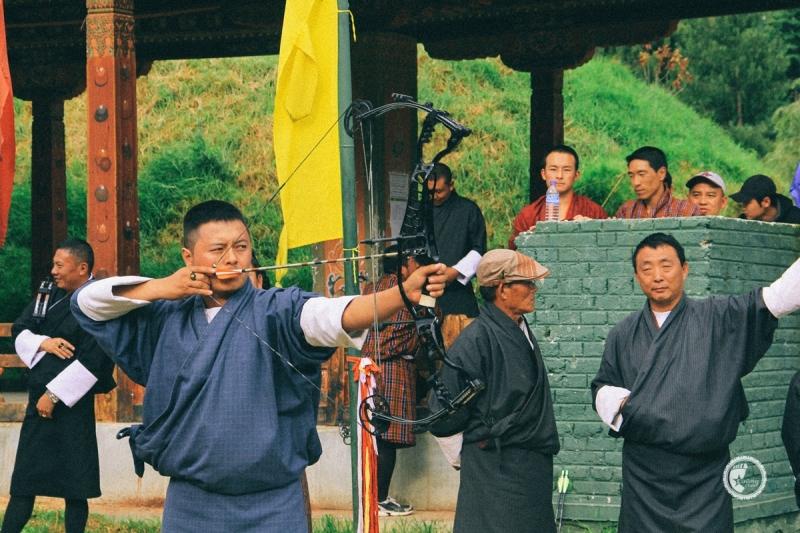 Bắn cung rất phổ biến ở Bhutan và được xem là điểm nhấn du lịch của quốc gia này.