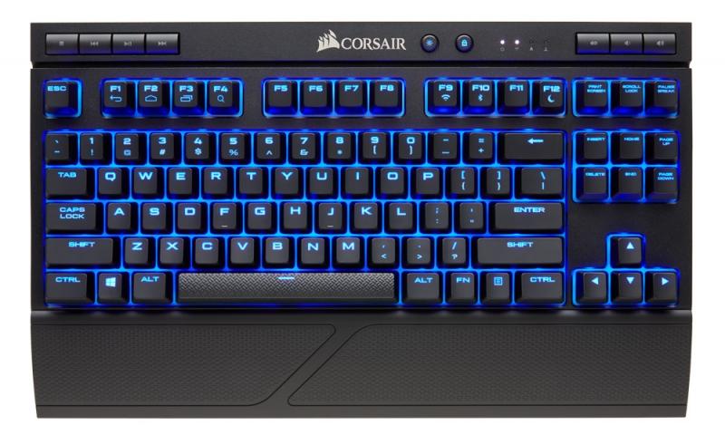 Corsair K63 Wireless nằm trong danh sách top những bàn phím sạch và hiện đại nhất thế giới