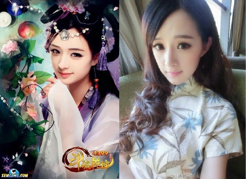 Cô người mẫu dễ thương giống Dương Mịch