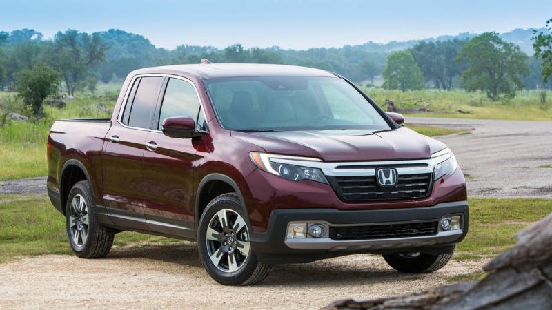 Bán tải hạng trung tốt nhất: Honda Ridgeline