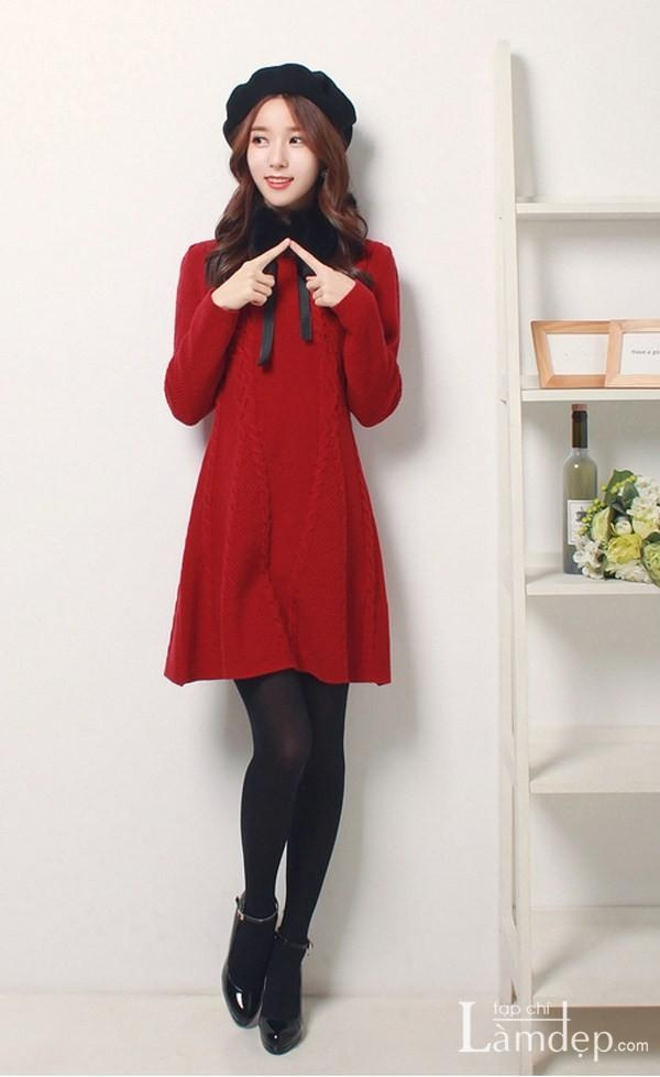Thỏa thích diện những bộ váy áo xinh đẹp, ấm áp