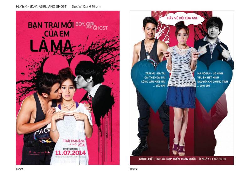 Bạn Trai Mới Của Em Là Ma - Boy, Girl And Ghost (2014)