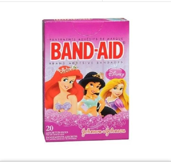 Băng dán cá nhân Band - aid (20 miếng) Công chúa cho bé