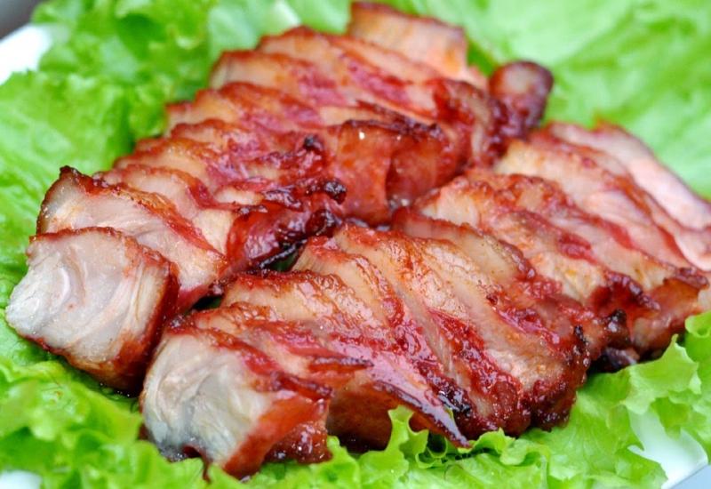 Thịt ba rọi chiên