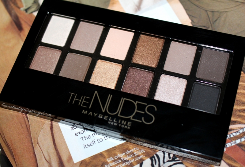 12 bảng màu của The Nudes Palette sẽ cho bạn gái nhiều sự lựa chọn phong cách cho mình.
