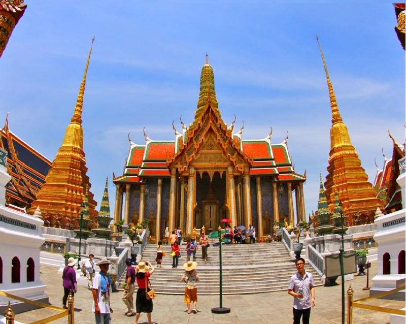 Thủ đô của Thái Lan. Bangkok