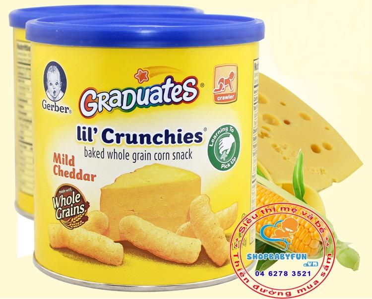 Bánh ăn dặm Gerbor vị bắp phô mai