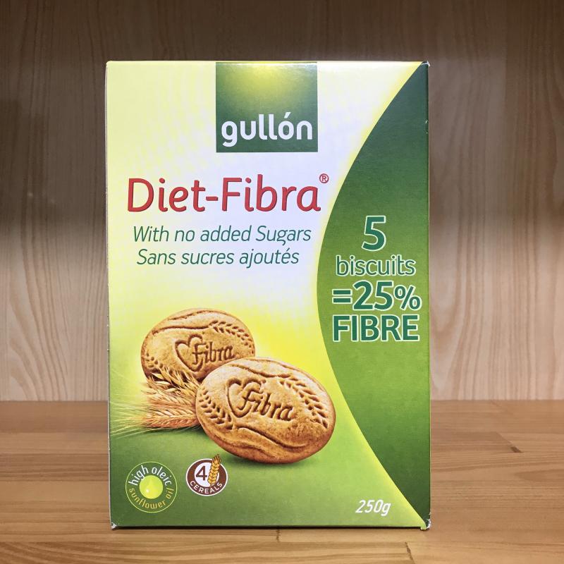 Bánh ăn kiêng Gullón không đường nhiều chất xơ