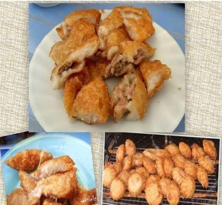 Bánh áp chao, một món ăn vặt nổi tiếng cũng là một trong những đặc sản ẩm thực không thể bỏ qua khi đến Xứ Lạng