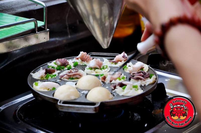 Bánh bạch tuộc TAKOYAKI - Anh Tuộc