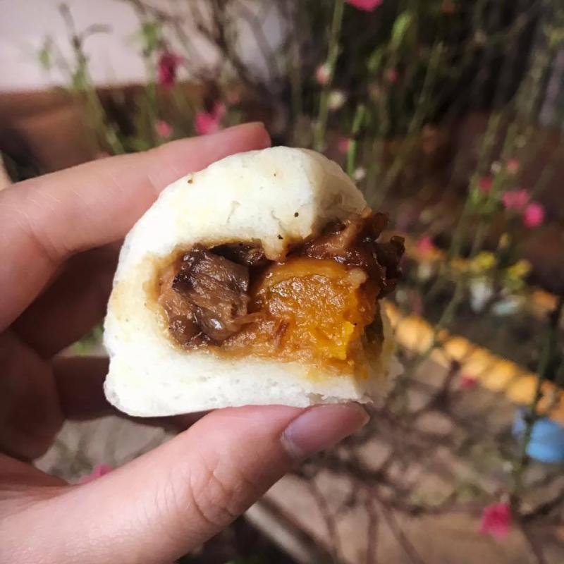 Bánh bao Hoa Mai
