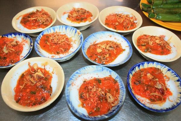 Bánh bèo cô Hồng - ăn vặt Tam Kỳ