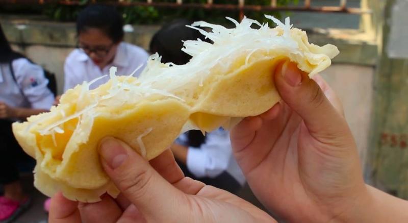Bánh bò dừa tươi