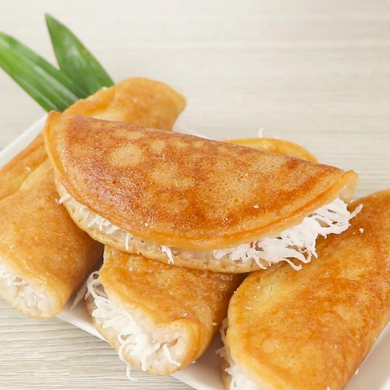 Bánh bò nướng nhân dừa