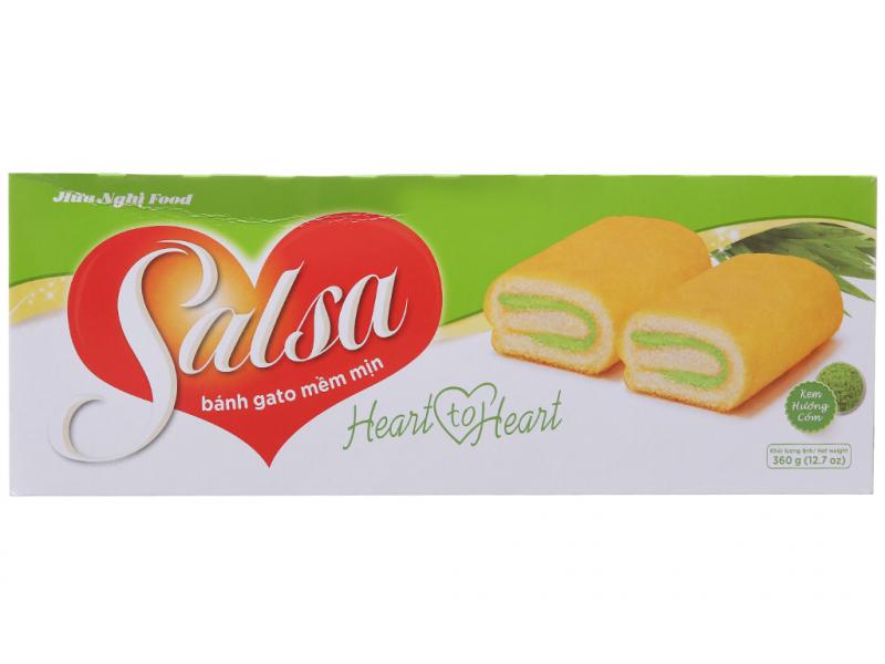 bánh cuộn Salsa kem sữa