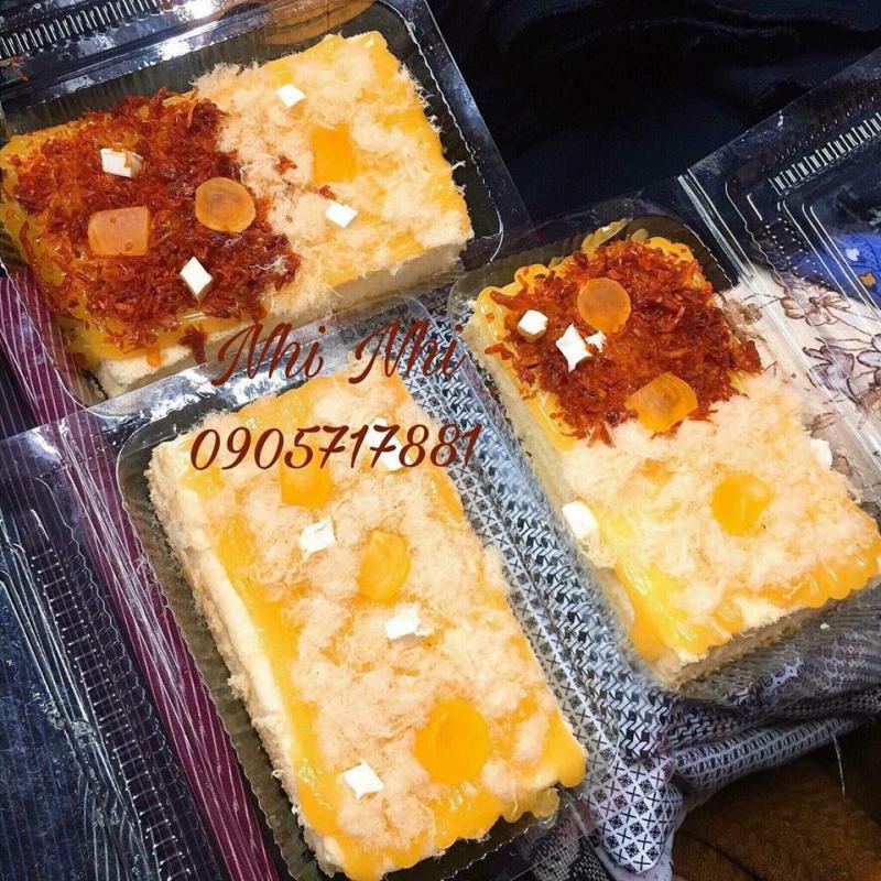 Cận cảnh những hộp bánh thơm ngon và ngập sốt của Bông lan trứng muối Nhi Nhi