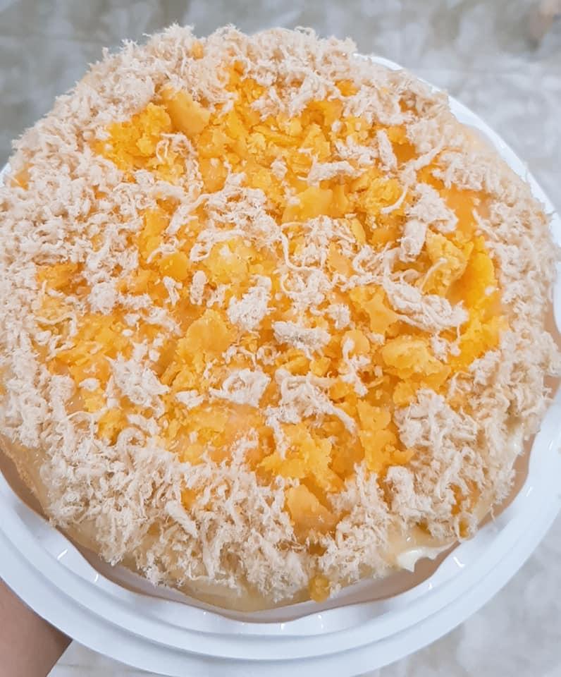 Bánh bông lan trứng muối  Thuy Nguyen