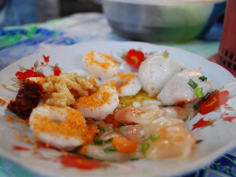 Bánh bột lọc tại Sài Gòn