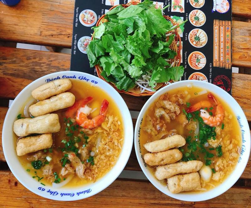 Bánh canh 69 Ô Chợ Dừa