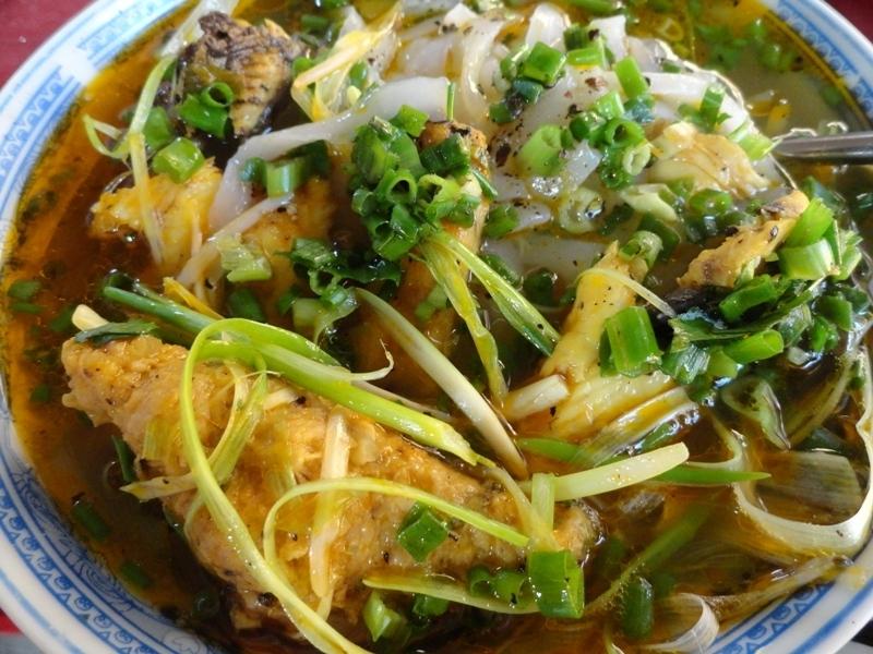 Bánh canh cá lóc Mino