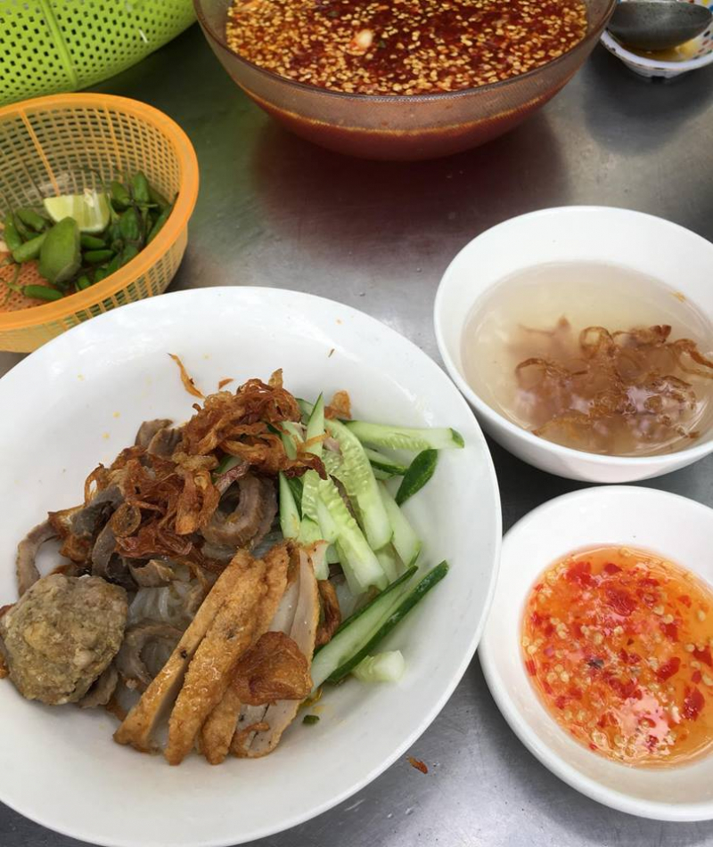 Bánh canh khô Nha Trang – Cô Tuyết