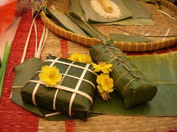 Bánh chưng Bờ Đậu thơm ngon nổi tiếng