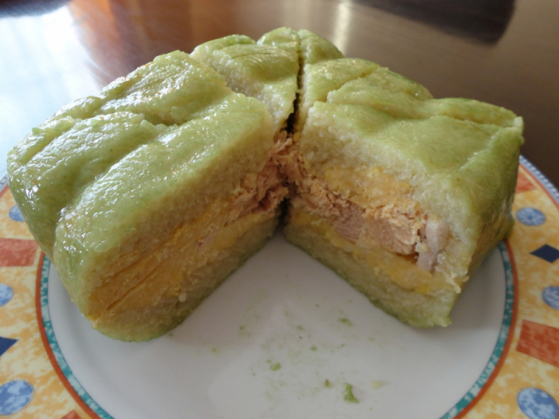 Bánh chưng nếp dẻo thơm ngon