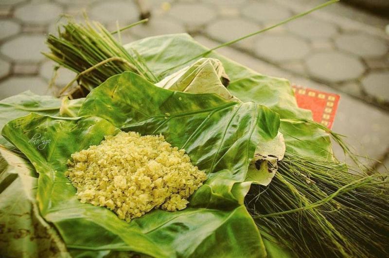 Bánh cốm Nguyên Ninh - Chính gốc số 11 Hàng Than