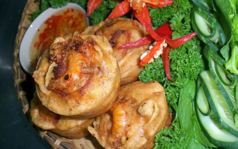 Bánh cóng, đặc sản Sóc Trăng
