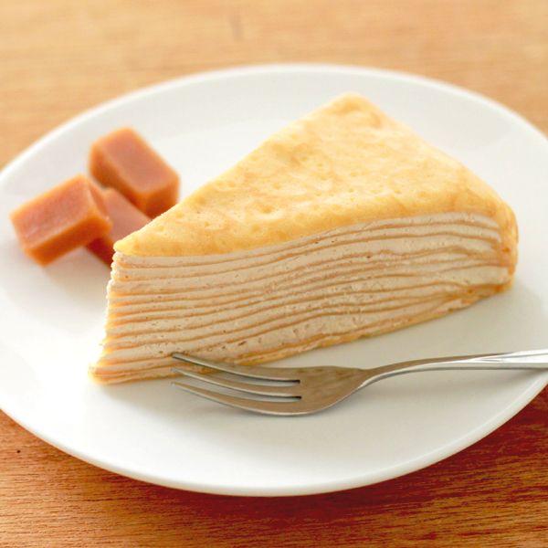 Bánh crepe bơ sữa